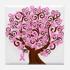 The Tree of Life...Breast Cancer Tile Coaster