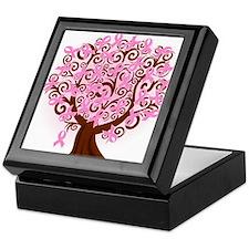 The Tree of Life...Breast Cancer Keepsake Box