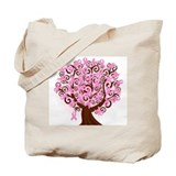 Breast cancer Canvas Totes