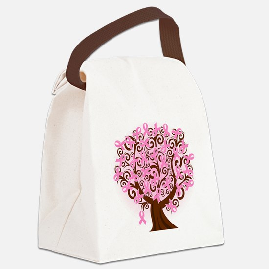The Tree of Life...Breast Cancer Canvas Lunch Bag