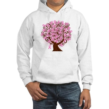 The Tree of Life...Breast Cancer Hoodie