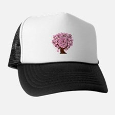 The Tree of Life...Breast Cancer Trucker Hat