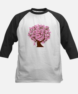 The Tree of Life...Breast Cancer Baseball Jersey