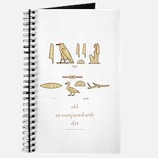 Older Than Egyptian Dirt (f) Journal