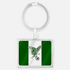 Nigerian Football Flag Keychains