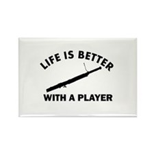 Bassoon Designs Rectangle Magnet
