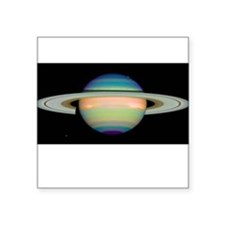 "saturn Square Sticker 3"" x 3"""