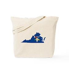 Virginia Past Matron Tote Bag