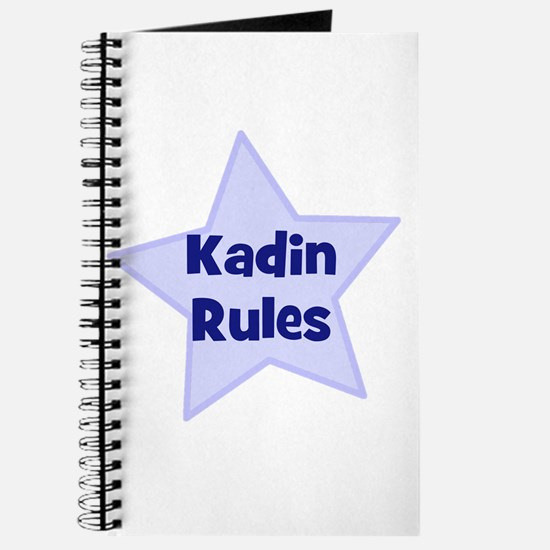Kadin Rules Journal