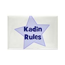 Kadin Rules Rectangle Magnet
