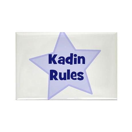Kadin Rules Rectangle Magnet (10 pack)