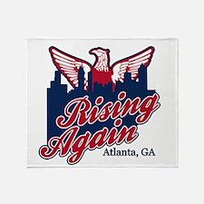 Rising Again Throw Blanket