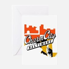 Charm City Greeting Card