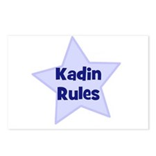 Kadin Rules Postcards (Package of 8)