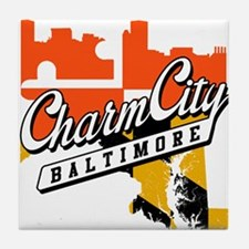 Charm City Tile Coaster