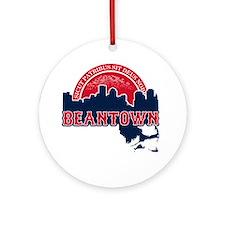 Beantown Ornament (Round)