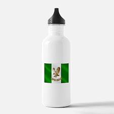 Nigerian Eagle Flag Water Bottle