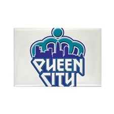 Queen City Rectangle Magnet (10 pack)