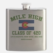 Mile High class of 420 Flask
