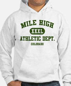 MIle High Athletic Dept. XXXL Jumper Hoody