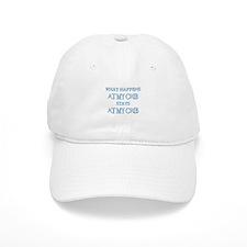 STAYS AT MY CRIB Baseball Cap