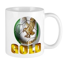Nigerian Football Gold Mug