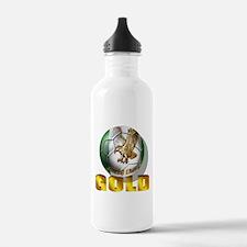 Nigerian Football Gold Water Bottle