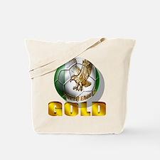 Nigerian Football Gold Tote Bag