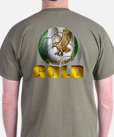 Nigerian Football Gold T-Shirt