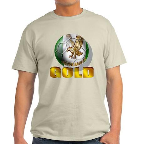 Nigerian Football Gold Light T-Shirt