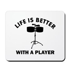 Timbales Designs Mousepad