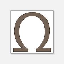 The Greek Alpha Symbol Sticker