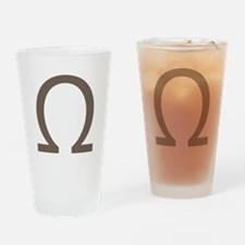 The Greek Alpha Symbol Drinking Glass