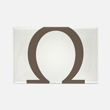 The Greek Alpha Symbol Rectangle Magnet