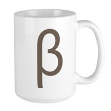 Greek Symbol Beta Mug