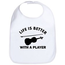 Violin Designs Bib