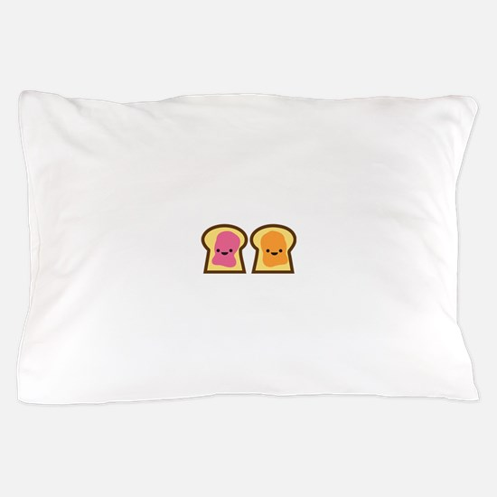 Peanut Butter Jelly Time Pillow Case