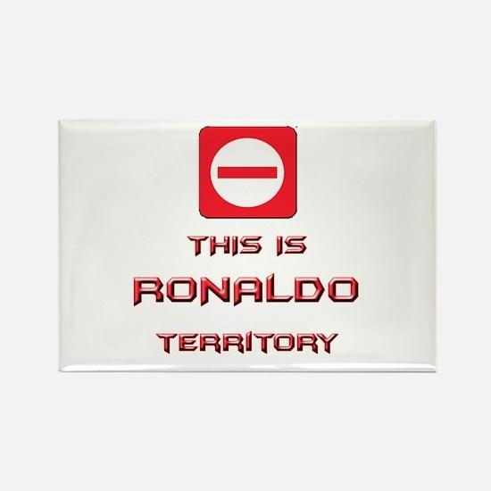 Cute Ronaldo Rectangle Magnet