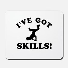 Breakdance Designs Mousepad
