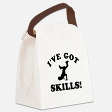 Breakdance Designs Canvas Lunch Bag