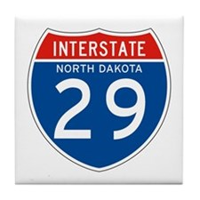 Interstate 29 - SD Tile Coaster