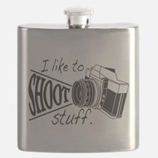 I like to SHOOT stuff Flask