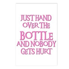 HAND OVER THE BOTTLE Postcards (Package of 8)