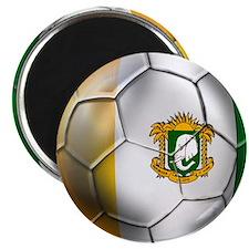 Cote D'Ivore Soccer ball Magnet