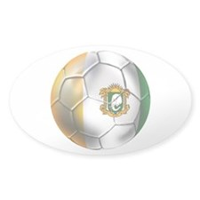 Cote D'Ivore Soccer ball Decal