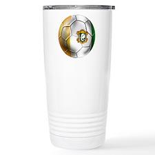 Cote D'Ivore Soccer ball Travel Mug