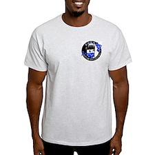 KORG Mens T-Shirt Double Sided Print