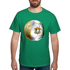 Cote D'Ivore Soccer Ball T-Shirt