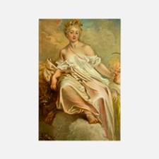 Ceres in Summer by Antoine Watteau Magnets