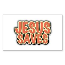 Jesus Saves Decal